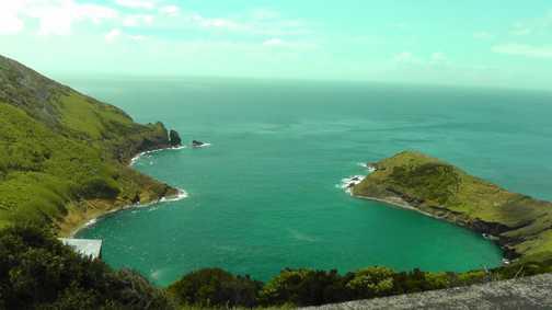Faial coastline