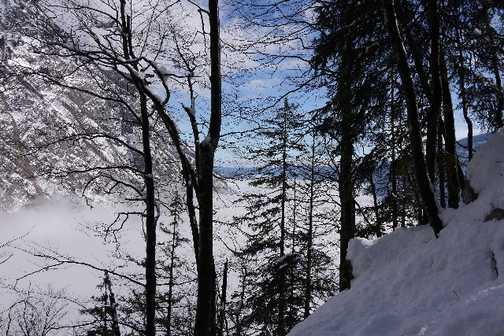 Hike up to Bogatin Plateau