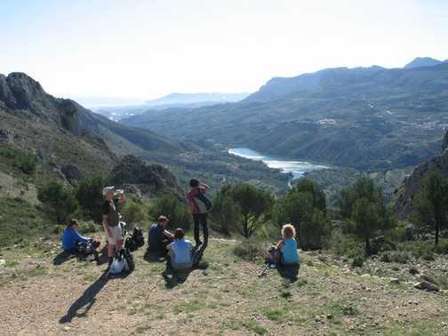 Guadalest water dam day 2 Dec 09