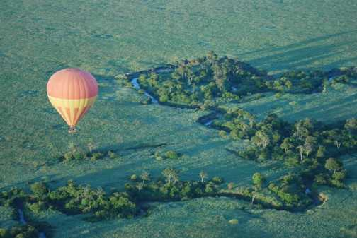 Mara Baloon ride at dawn
