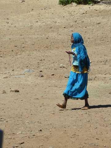 Axum local lady