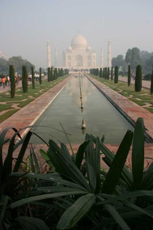 Taj Mahal in the morning light