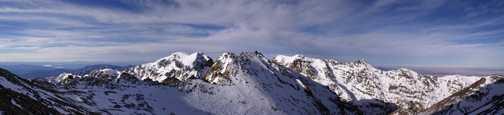 Toubkal Summit Panorama