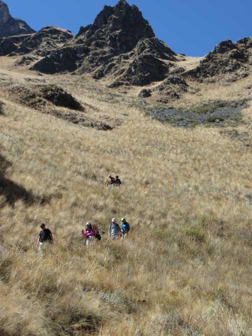 Ascents & descents today