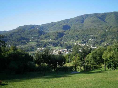 View across the vallet from Braccicorti