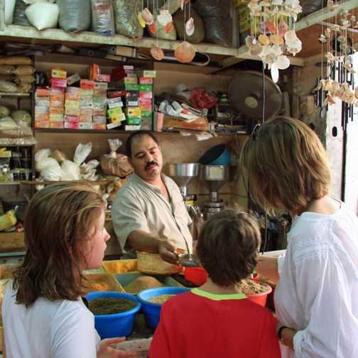 Aqaba spice stall