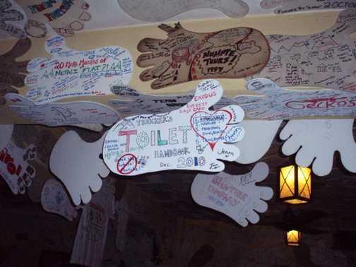 Our footprint in Rum Doodle