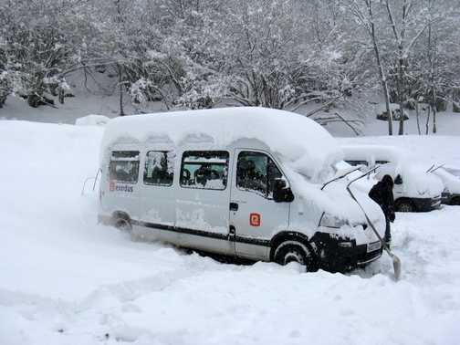 Exodus mini bus