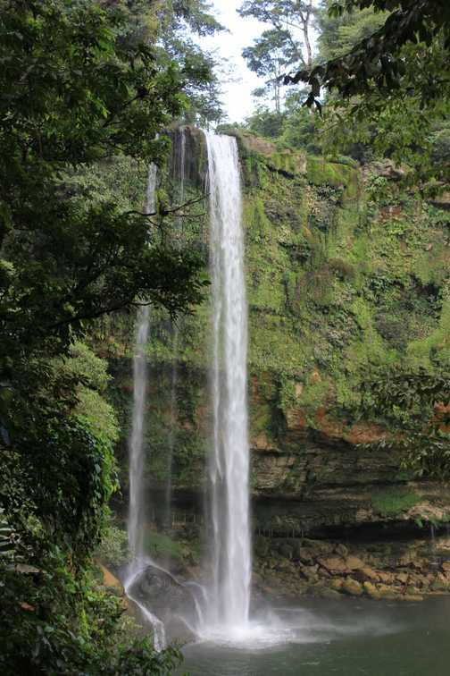 Waterfall at Misol-ha, Chiapas