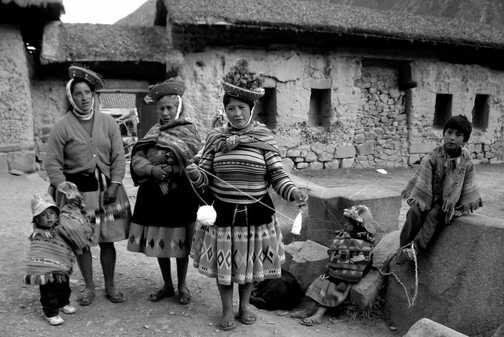 A Peruvian Welcome