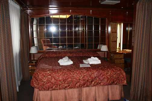 Cabin aboard Sea Spirit
