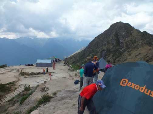 Camp Site Phuyupatamarca