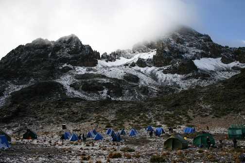 camping on kilimanjaro