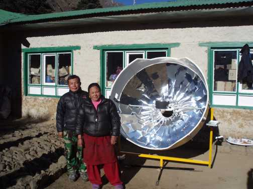 Our 2nd solar cooker