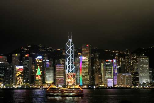 Victoria Harbour Hong Kong, Looking from Kowloon