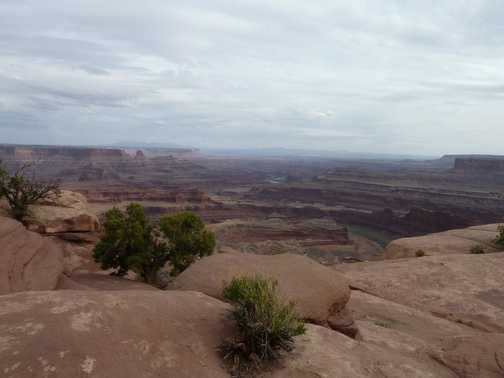 Slickrock trail in Moab