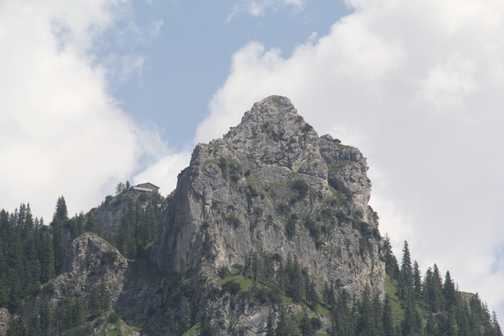 Mountain cafe on the Sonnenberg ridge