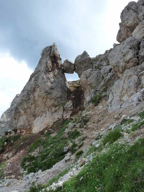 Rock between hard places