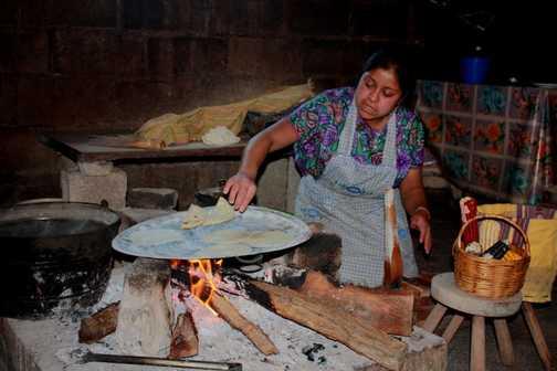 Fresh tortillas!