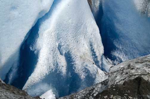 Walking on Viedma Glacier