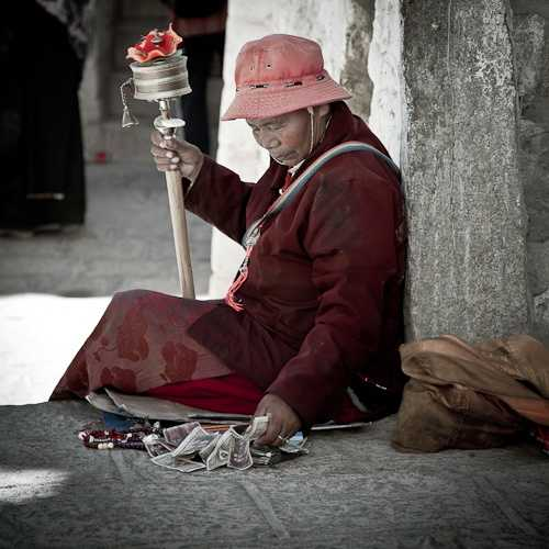 Blessed Ray of light, Drepung Monastery