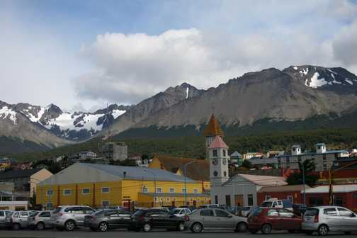 Ushuaia - embarkation day