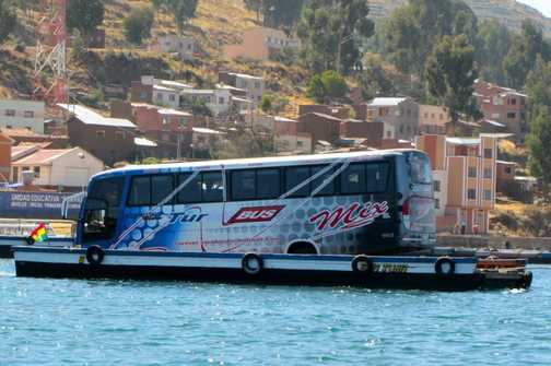 Barge, nr Lake Titicaca