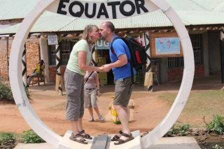 on the Equator - has to be done