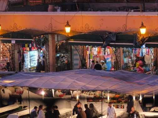Marrakech stalls