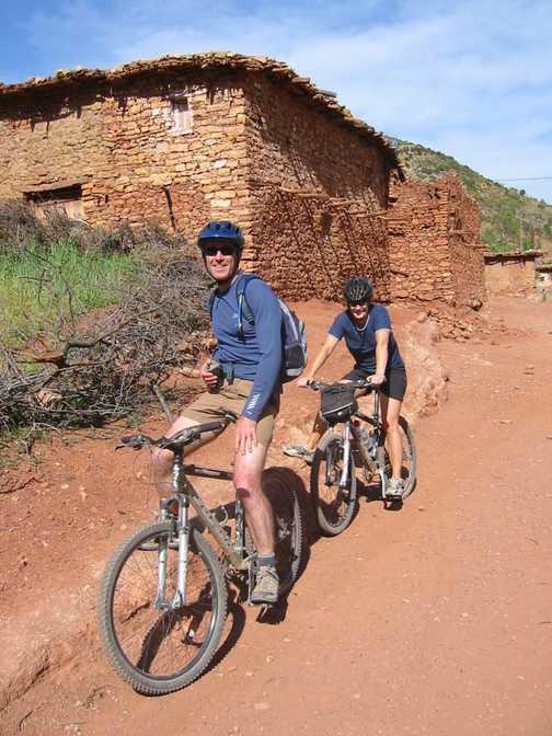 Berber checks out the tourists