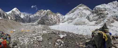Everest Base Camp Wide Angle