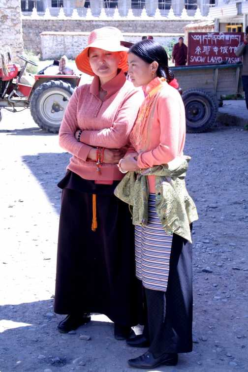 Tibet Gyantse Pelke Chode Monastery & Kumbum Stupa