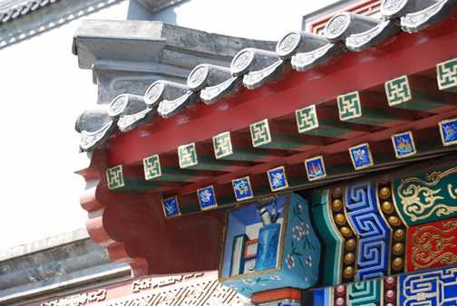 Building roof detail