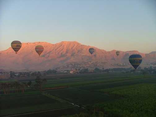 Luxor ballooning