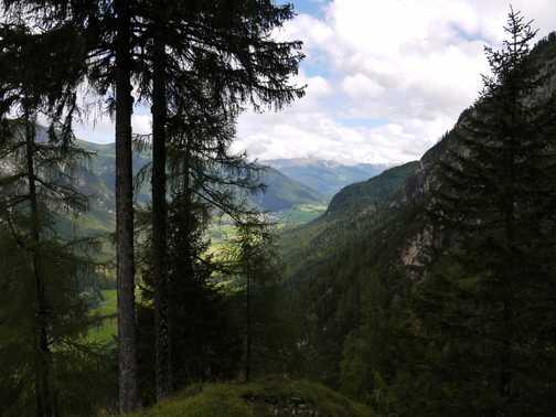 Gschitztal from Sta Magdalana