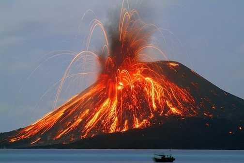 volcano on my island
