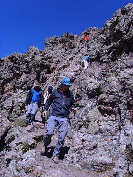 last bit of ascent