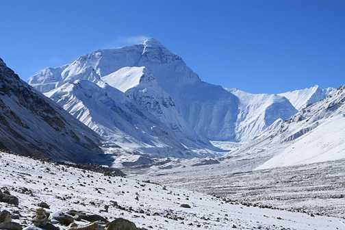 Walking to Everest basecamp