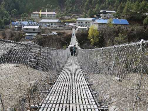 One of many bridges