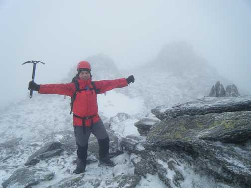 Summit of Glyder Fawr