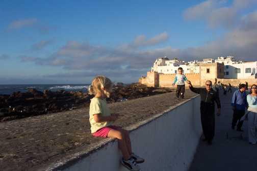 Admiring Essaouira