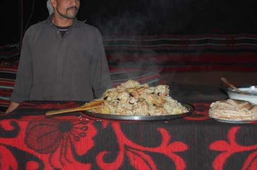 Dinner - Bedouin style