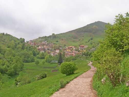 Entrance to Tresviso