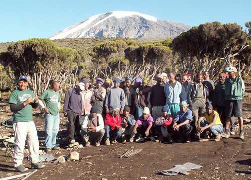 32 crew to support 8 trekkers