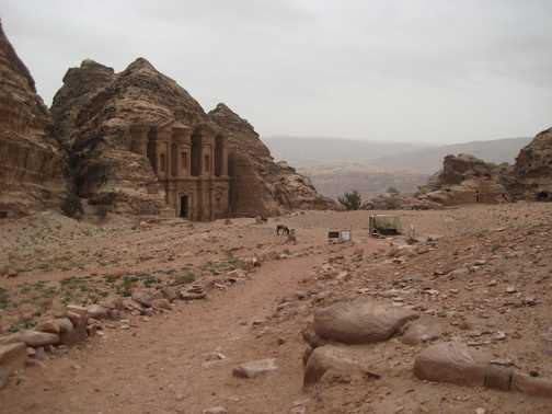 The Monastery at Petra (worth climbing the 800 steps for!)