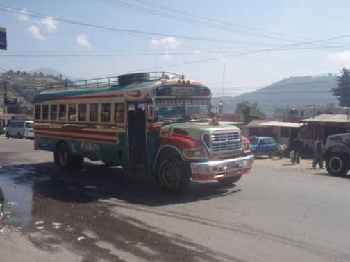 Local transport Guatemala