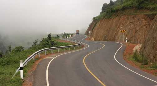 A long and winding road in Uganda