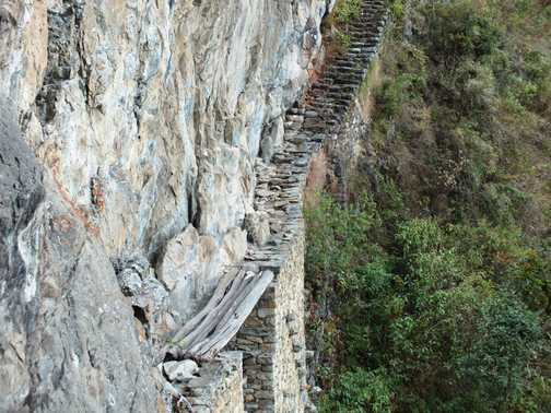 Old Inca Bridge