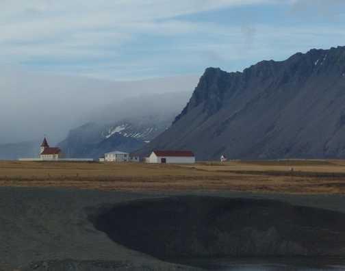 Church in the landscape