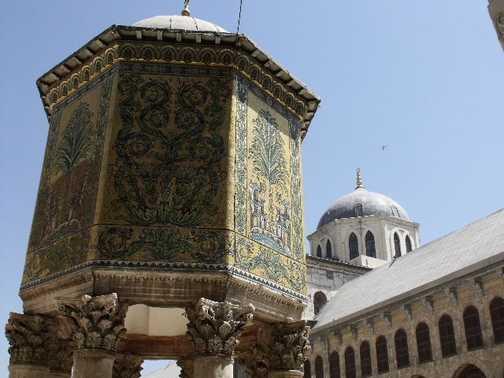 Umayyad Mosque Courtyard